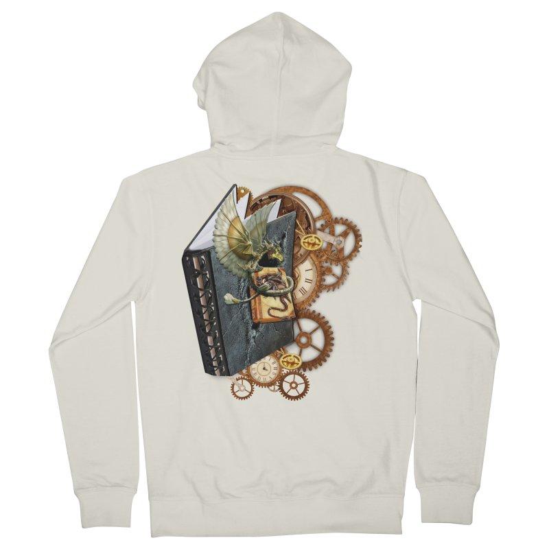Steampunk Dragon Stories Men's Zip-Up Hoody by NadineMay Artist Shop