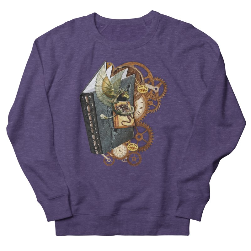 Steampunk Dragon Stories Women's Sweatshirt by NadineMay Artist Shop