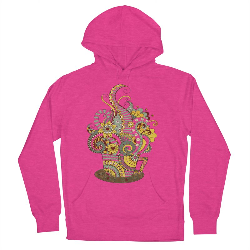 I Love coffee Women's Pullover Hoody by NadineMay Artist Shop