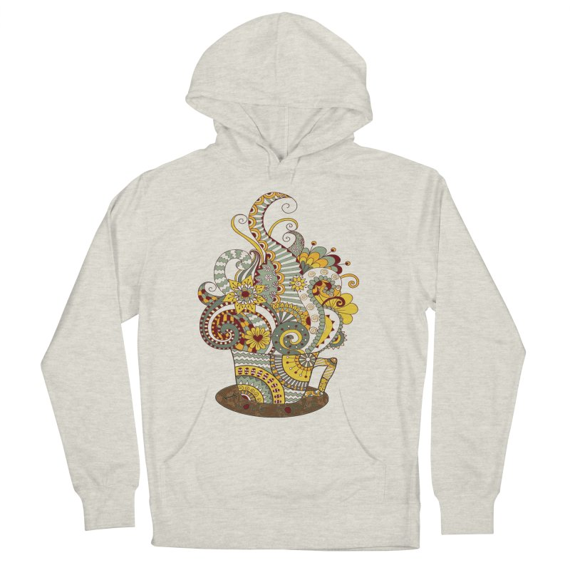 I Love coffee Men's Pullover Hoody by NadineMay Artist Shop