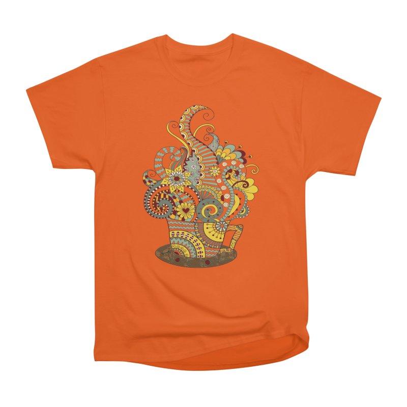 I Love coffee Women's Heavyweight Unisex T-Shirt by NadineMay Artist Shop