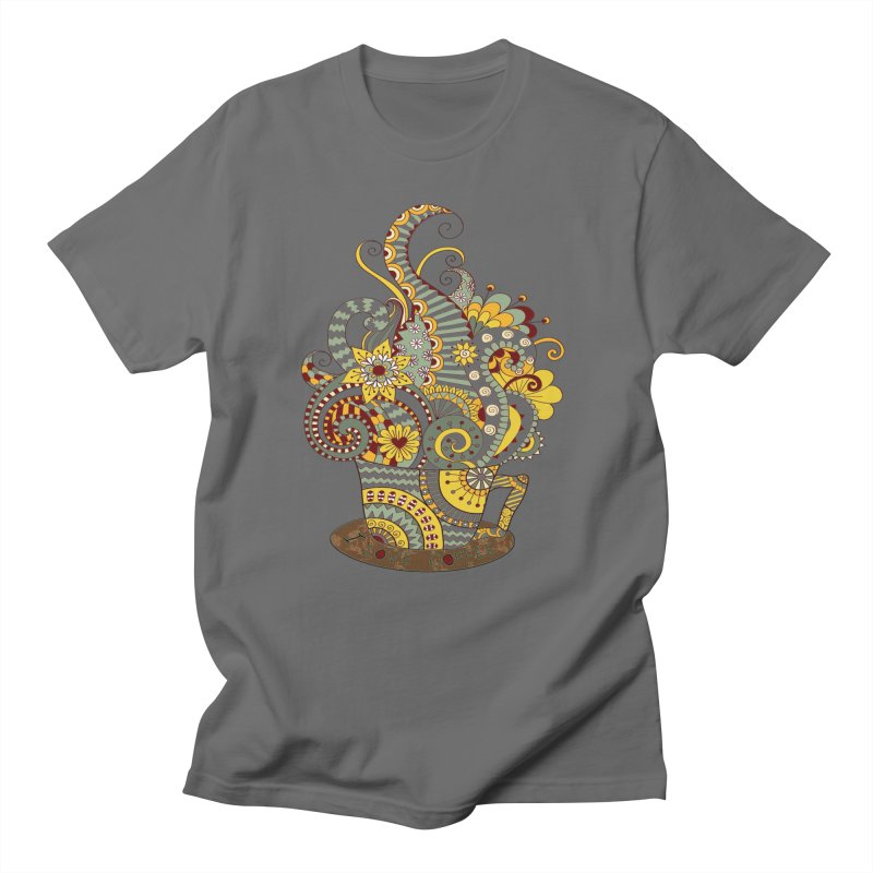 I Love coffee Men's T-Shirt by NadineMay Artist Shop