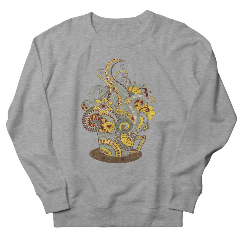I Love coffee Women's Sweatshirt by NadineMay Artist Shop