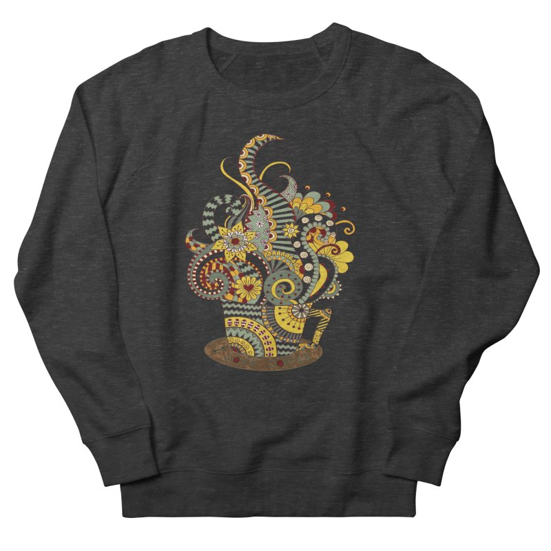 I Love coffee Men's Sweatshirt by NadineMay Artist Shop