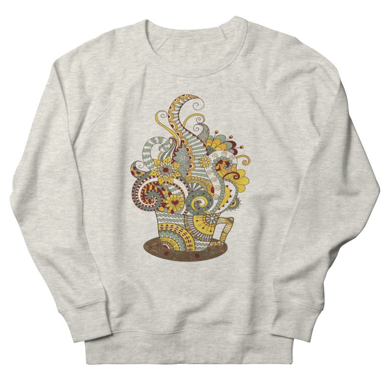 I Love coffee Men's Sweatshirt by NadineMay Artist Shop
