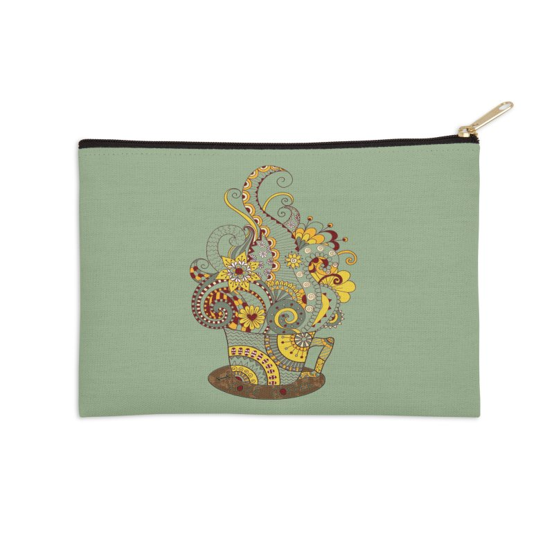 I Love coffee Accessories Zip Pouch by NadineMay Artist Shop