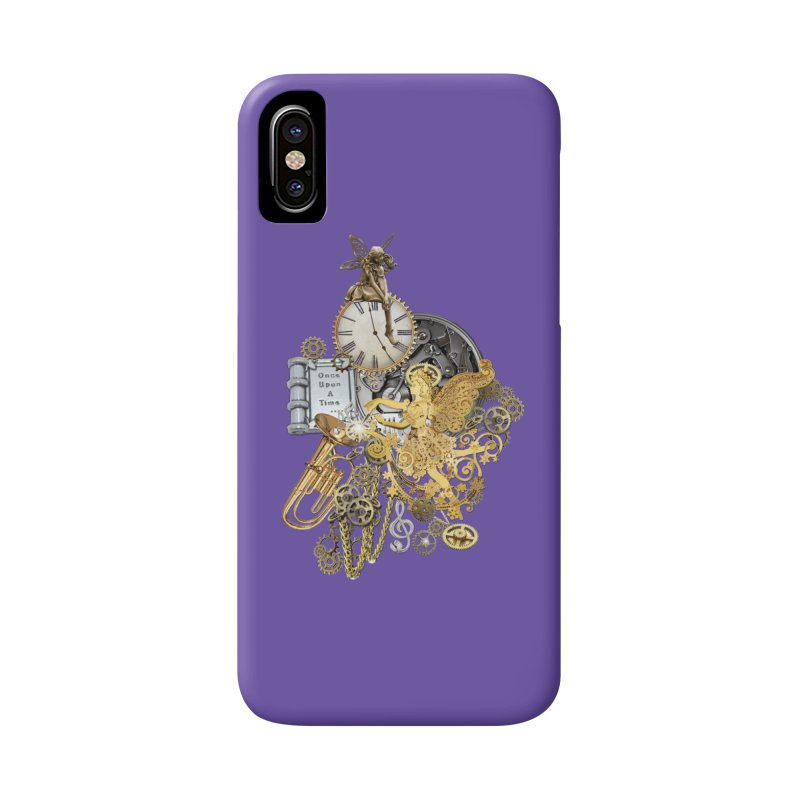 Steampunk-story telling Accessories Phone Case by NadineMay Artist Shop