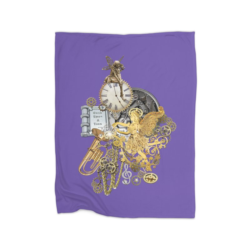 Steampunk-story telling Home Blanket by NadineMay Artist Shop