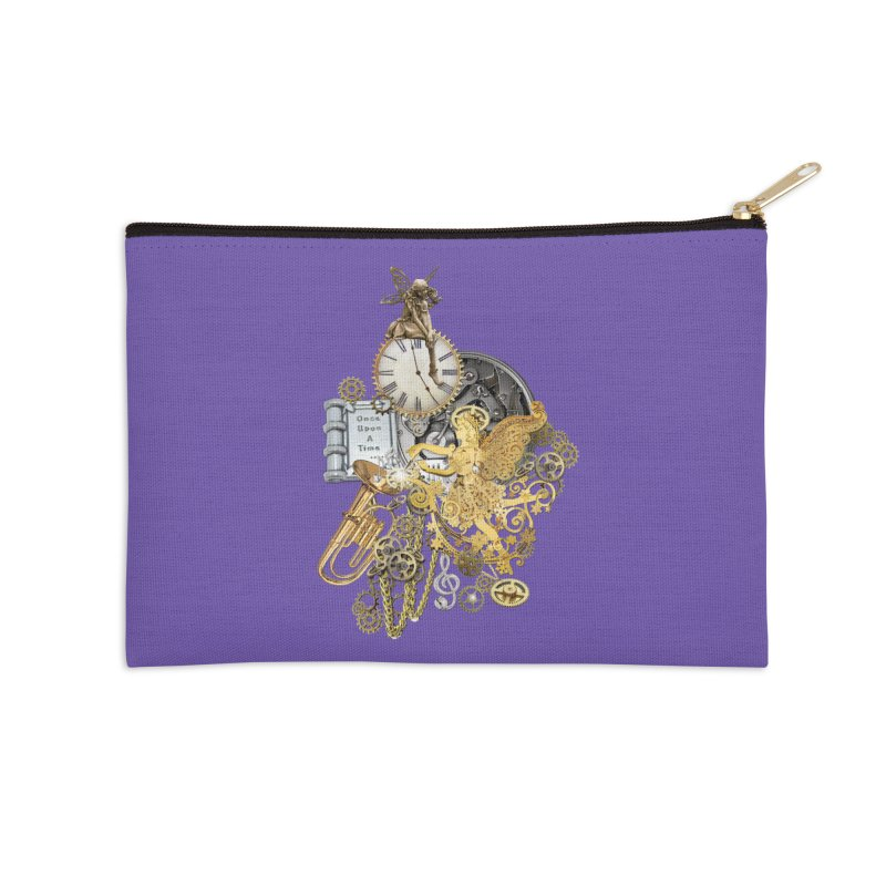 Steampunk-story telling Accessories Zip Pouch by NadineMay Artist Shop