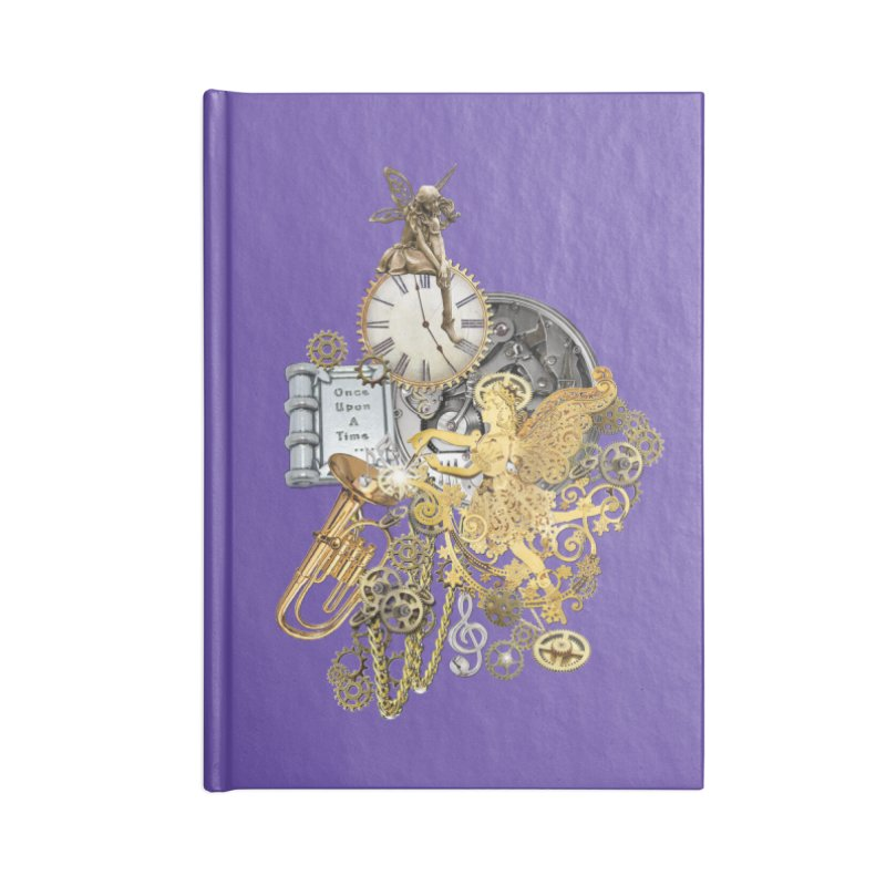 Steampunk-story telling Accessories Notebook by NadineMay Artist Shop
