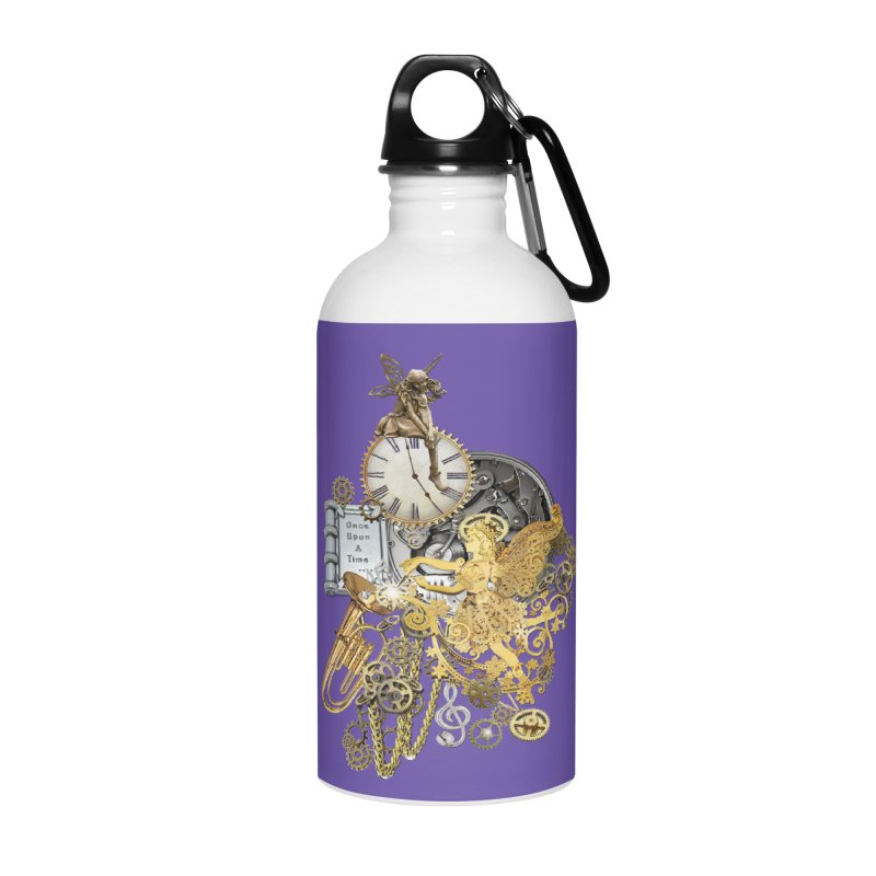 Steampunk-story telling Accessories Water Bottle by NadineMay Artist Shop