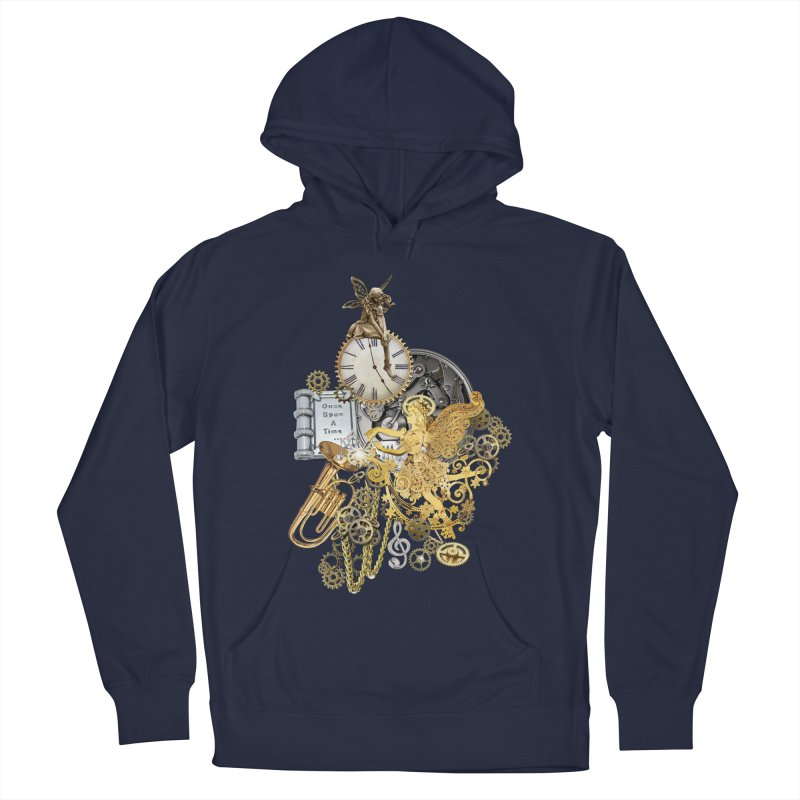 Steampunk-story telling Women's Pullover Hoody by NadineMay Artist Shop