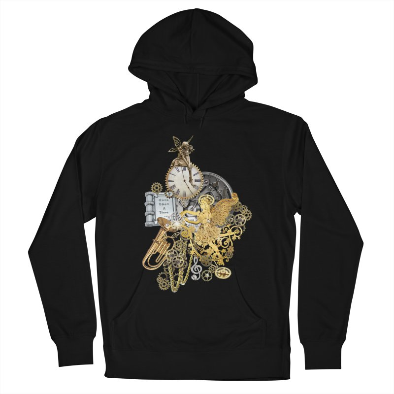 Steampunk-story telling Men's Pullover Hoody by NadineMay Artist Shop