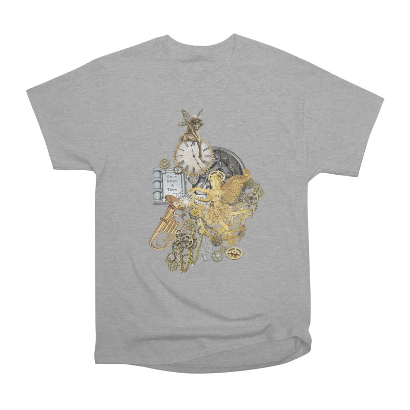 Steampunk-story telling Men's Heavyweight T-Shirt by NadineMay Artist Shop