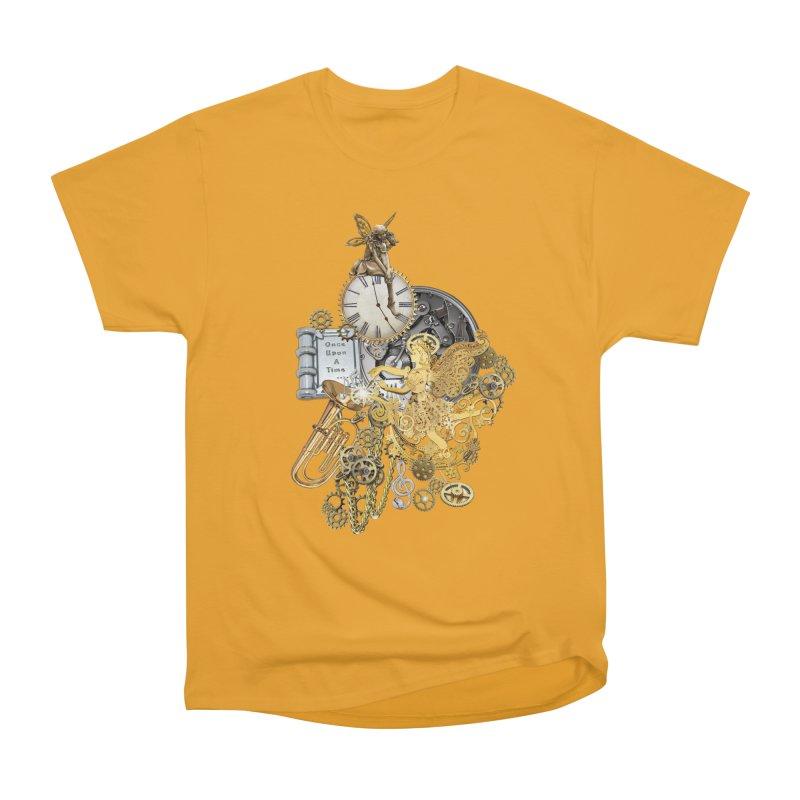 Steampunk-story telling Women's Heavyweight Unisex T-Shirt by NadineMay Artist Shop
