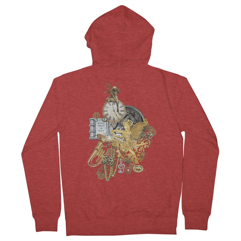 Steampunk-story telling Women's Zip-Up Hoody by NadineMay Artist Shop
