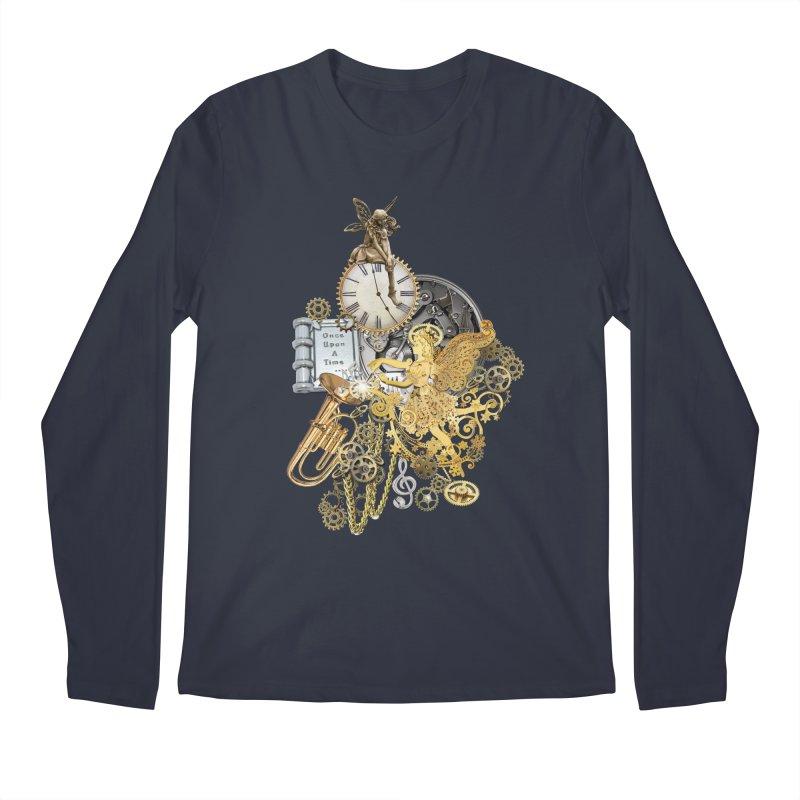 Steampunk-story telling Men's Longsleeve T-Shirt by NadineMay Artist Shop
