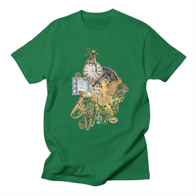 Steampunk-story telling Men's T-Shirt by NadineMay Artist Shop