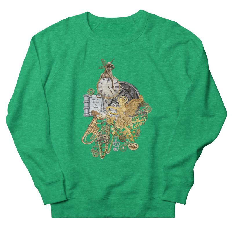 Steampunk-story telling Men's Sweatshirt by NadineMay Artist Shop
