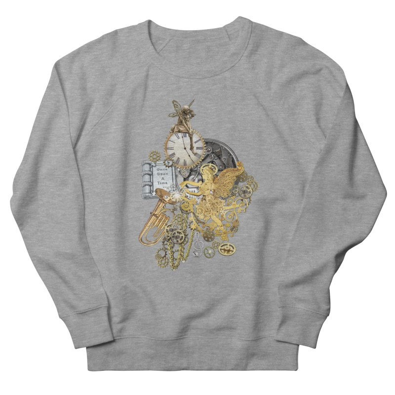 Steampunk-story telling Men's French Terry Sweatshirt by NadineMay Artist Shop