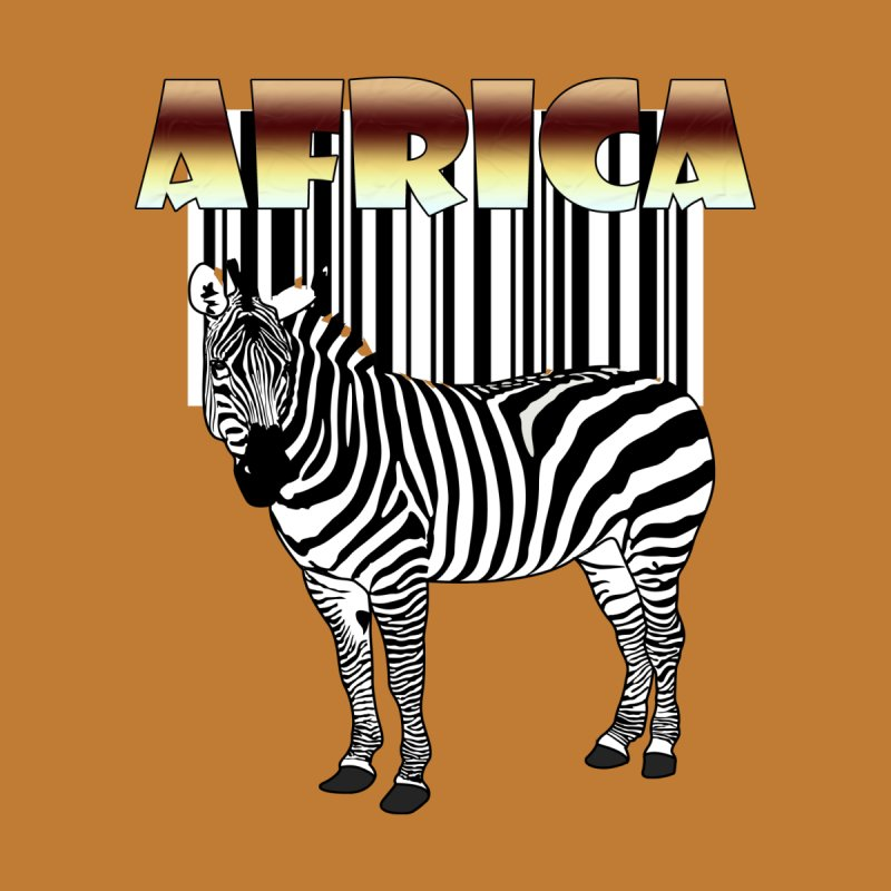 Afrika Zebra barcode by NadineMay Artist Shop