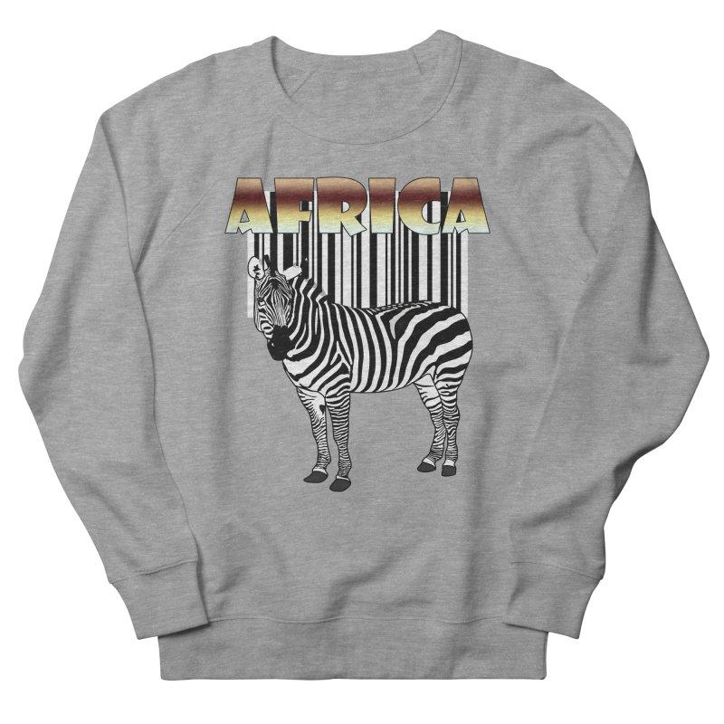 Afrika Zebra barcode Women's Sweatshirt by NadineMay Artist Shop