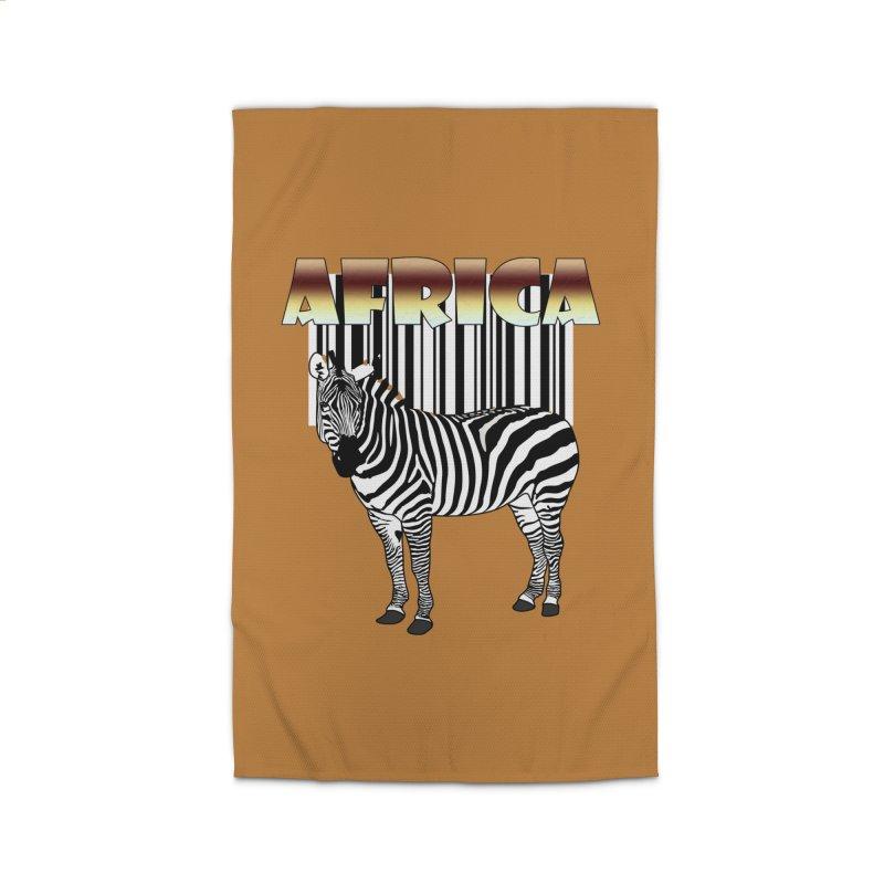 Afrika Zebra barcode Home Rug by NadineMay Artist Shop