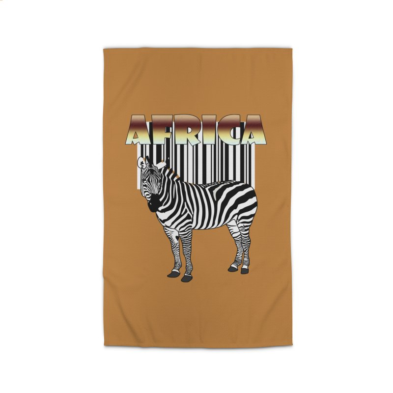 Afrika Zebra barcode Home Rug by NadineMay Artist Shop