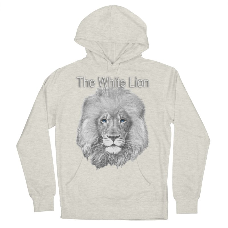 The White Lion Women's Pullover Hoody by NadineMay Artist Shop