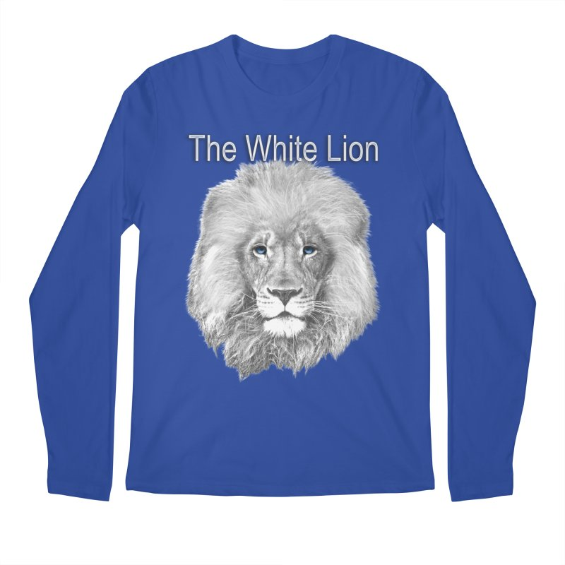 The White Lion Men's Longsleeve T-Shirt by NadineMay Artist Shop