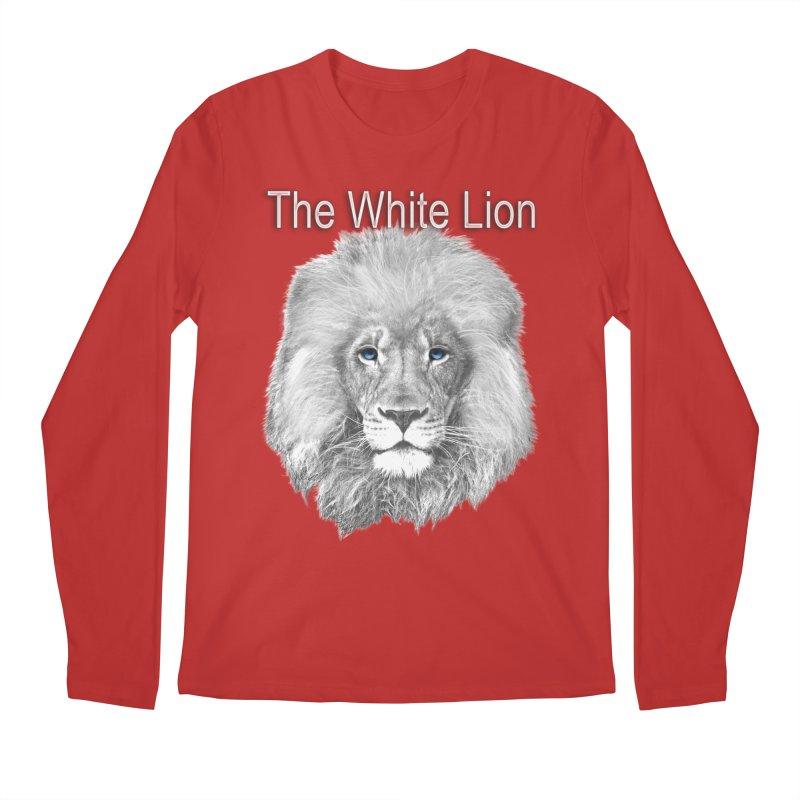 The White Lion Men's Longsleeve T-Shirt by NadineMay Artist Shop