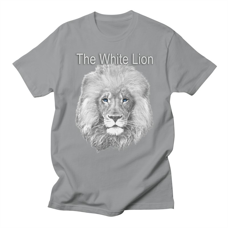 The White Lion Men's T-Shirt by NadineMay Artist Shop