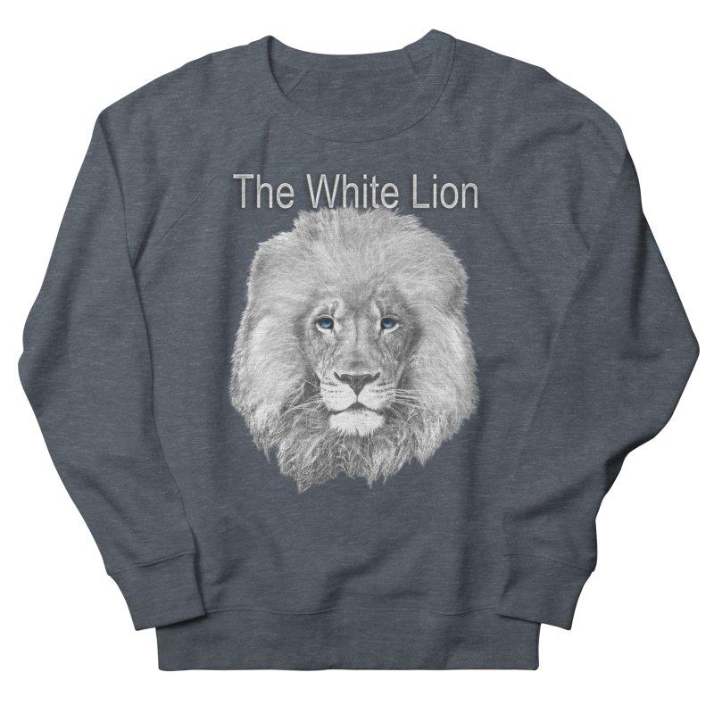 The White Lion Men's Sweatshirt by NadineMay Artist Shop