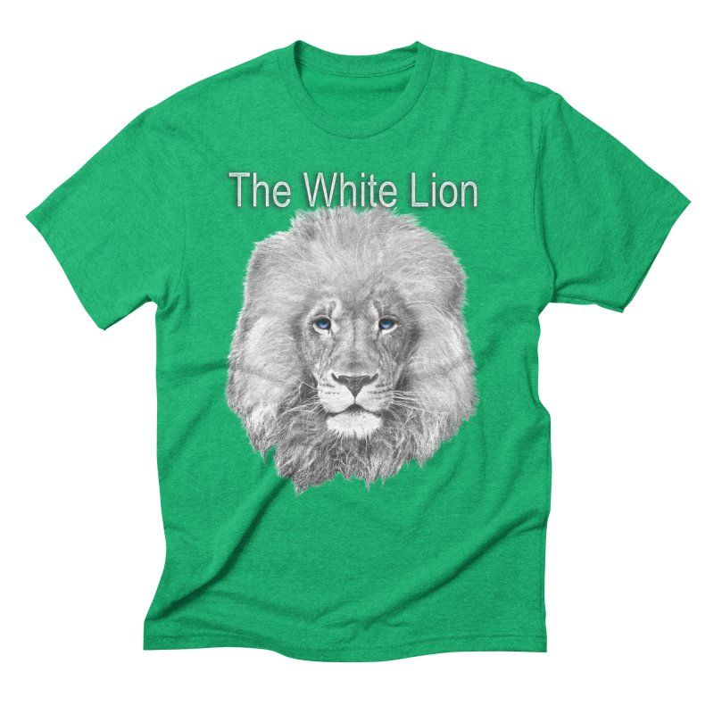 The White Lion Men's Triblend T-Shirt by NadineMay Artist Shop