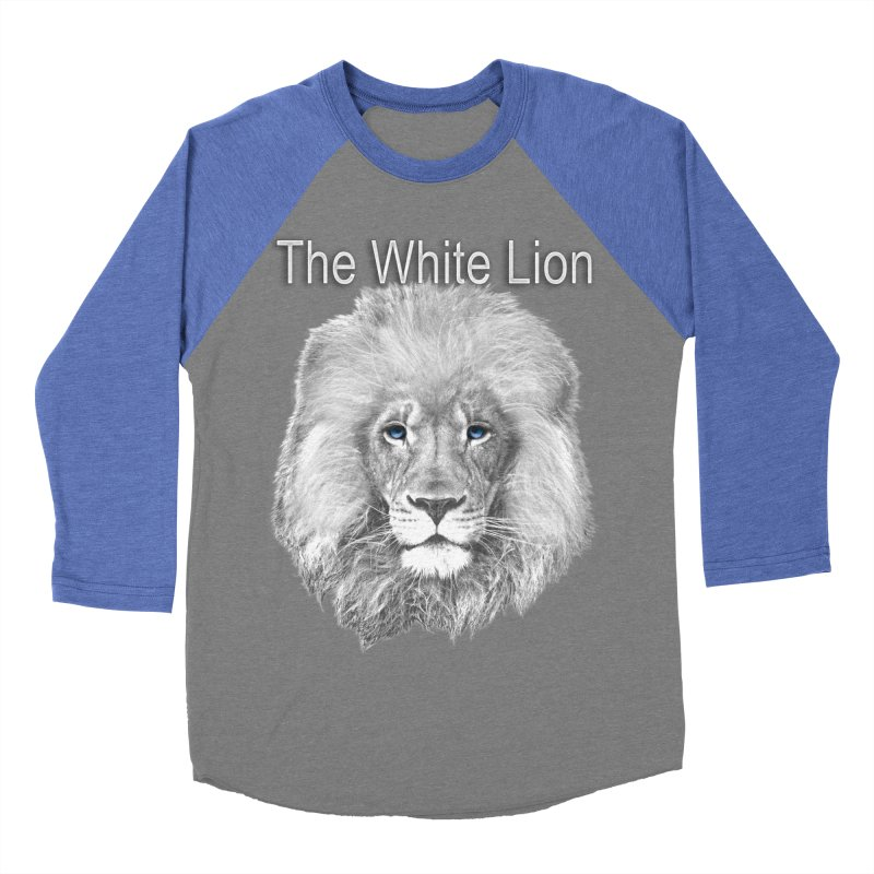 The White Lion Women's Baseball Triblend Longsleeve T-Shirt by NadineMay Artist Shop