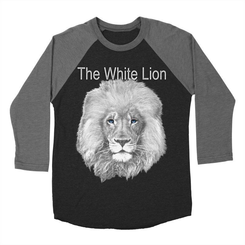 The White Lion Women's Baseball Triblend Longsleeve T-Shirt by NadineMay Artist Shop