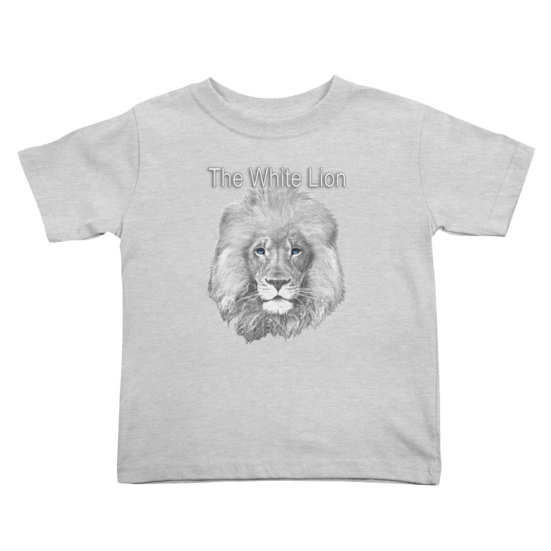The White Lion Kids Toddler T-Shirt by NadineMay Artist Shop