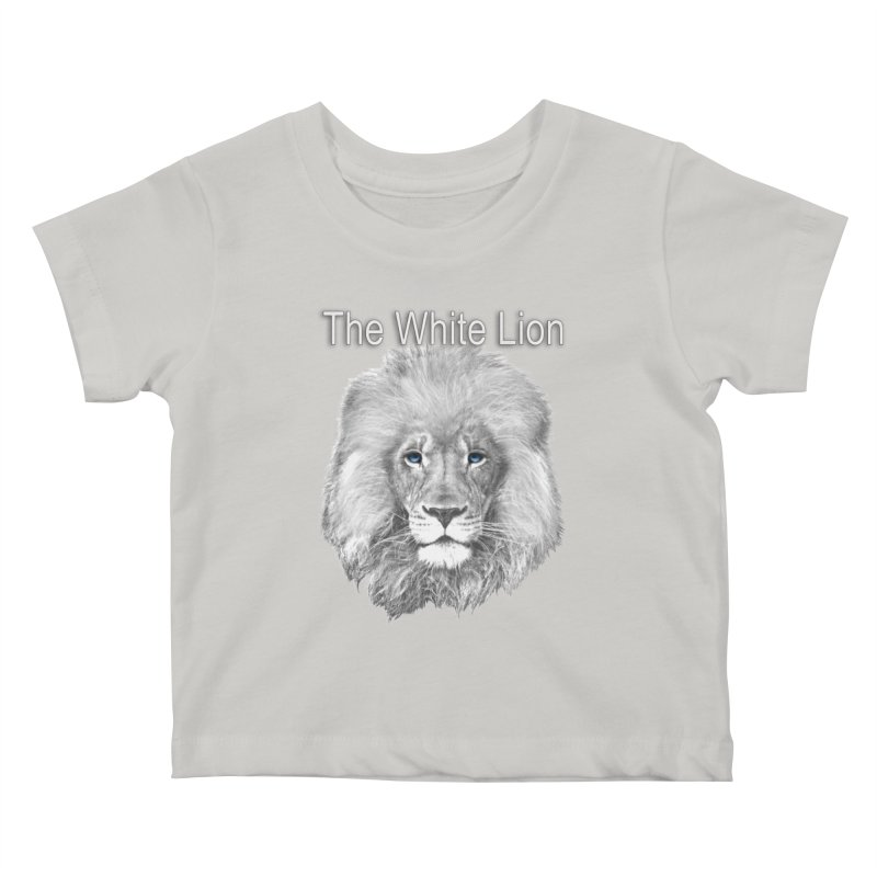The White Lion Kids Baby T-Shirt by NadineMay Artist Shop