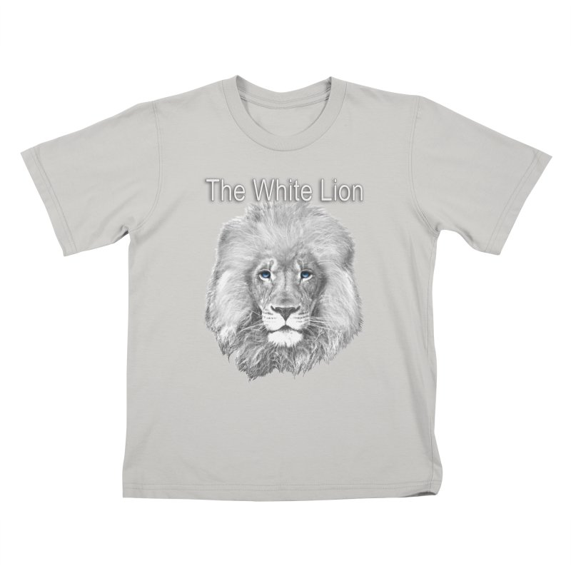 The White Lion Kids T-shirt by NadineMay Artist Shop