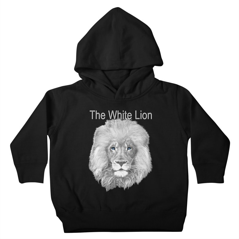 The White Lion Kids Toddler Pullover Hoody by NadineMay Artist Shop