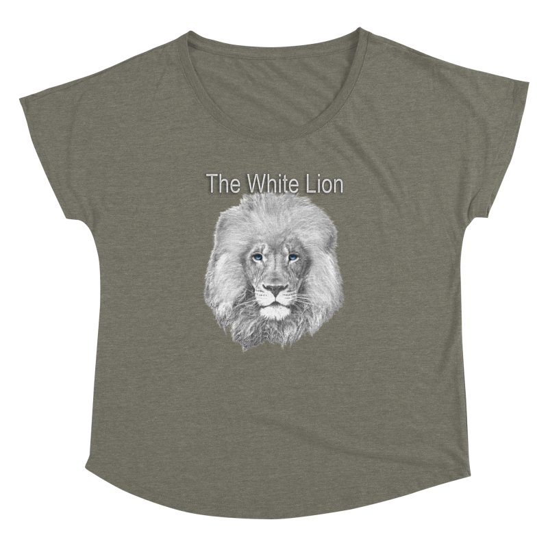 The White Lion Women's Dolman by NadineMay Artist Shop
