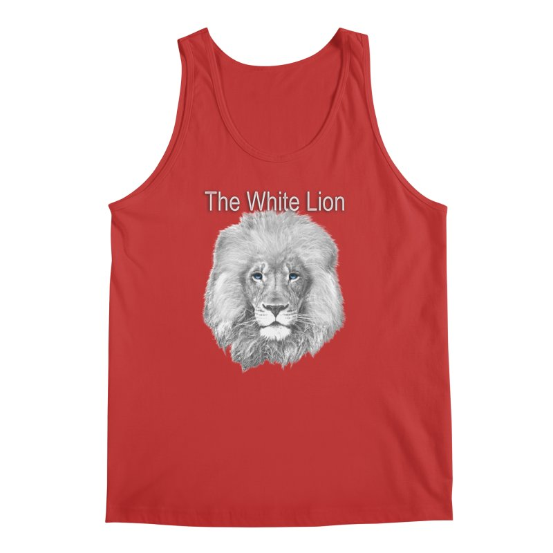 The White Lion Men's Regular Tank by NadineMay Artist Shop