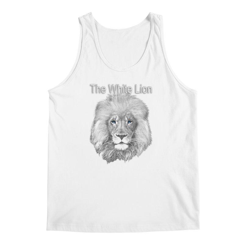 The White Lion Men's Regular Tank by NadineMay Artist Shop