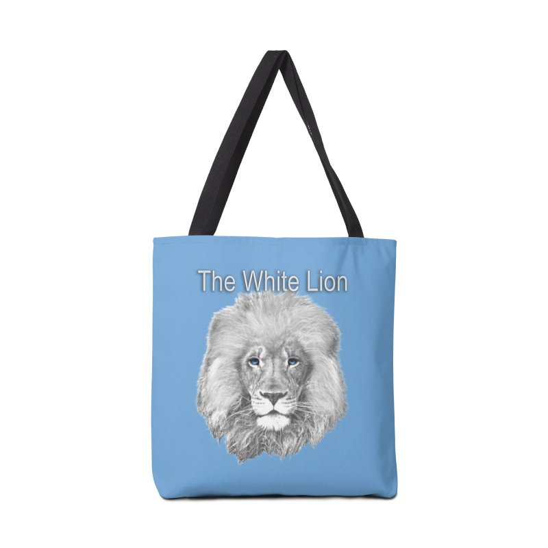 The White Lion Accessories Bag by NadineMay Artist Shop