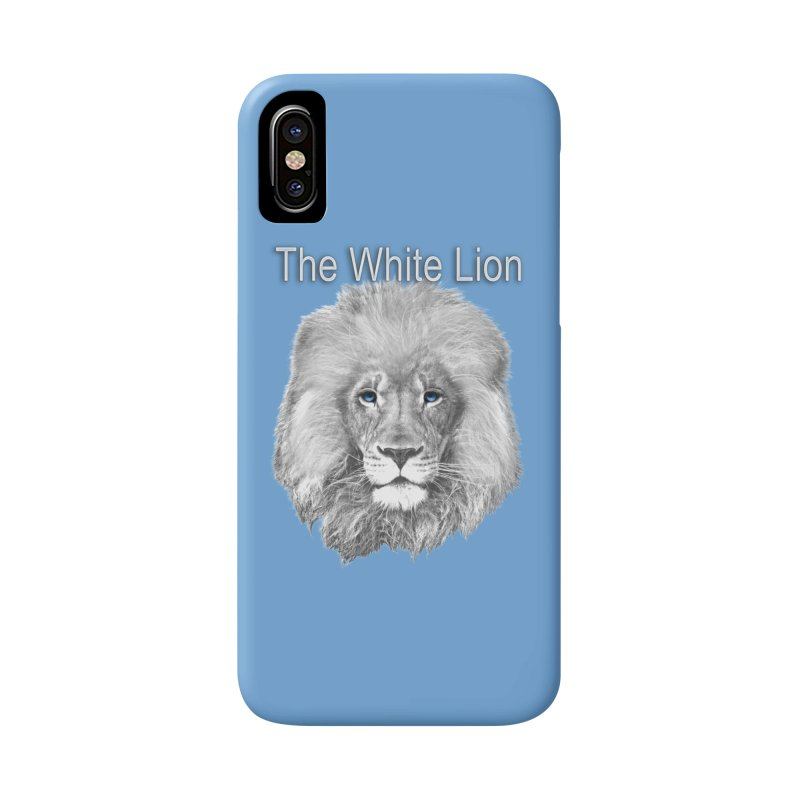 The White Lion Accessories Phone Case by NadineMay Artist Shop