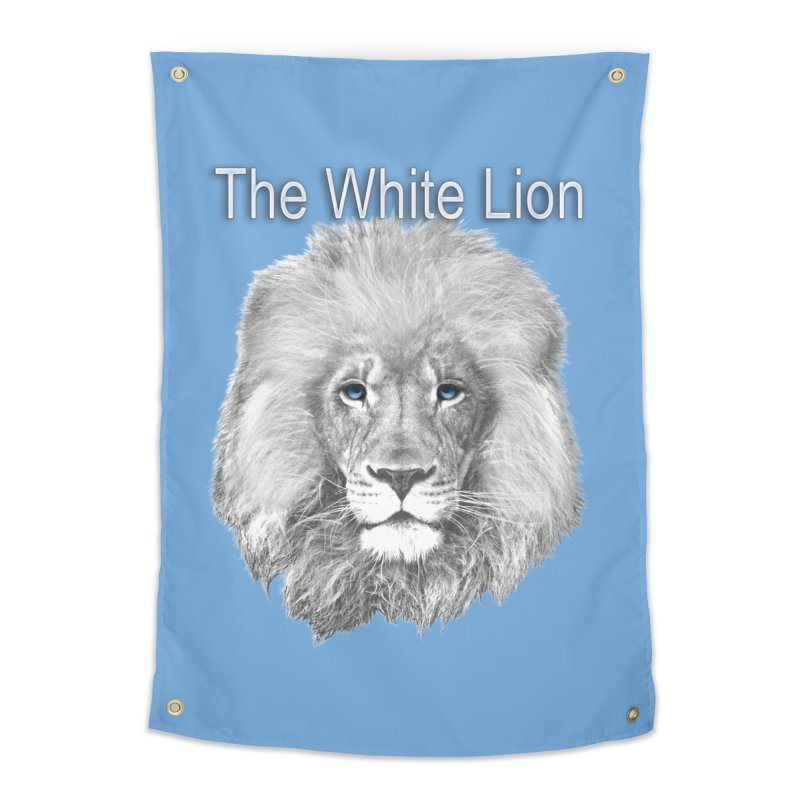 The White Lion Home Tapestry by NadineMay Artist Shop