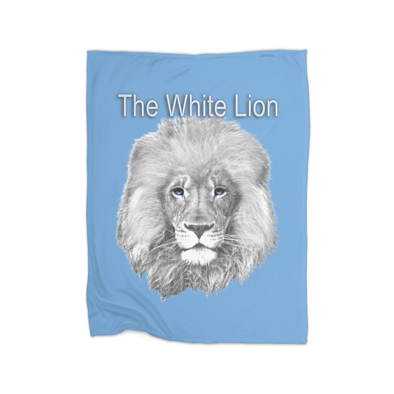 The White Lion Home Blanket by NadineMay Artist Shop