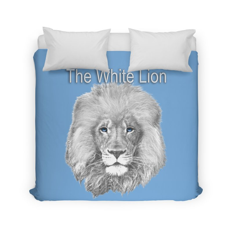 The White Lion Home Duvet by NadineMay Artist Shop