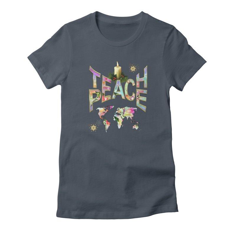 Teach Peace celebration Women's Lounge Pants by NadineMay Artist Shop