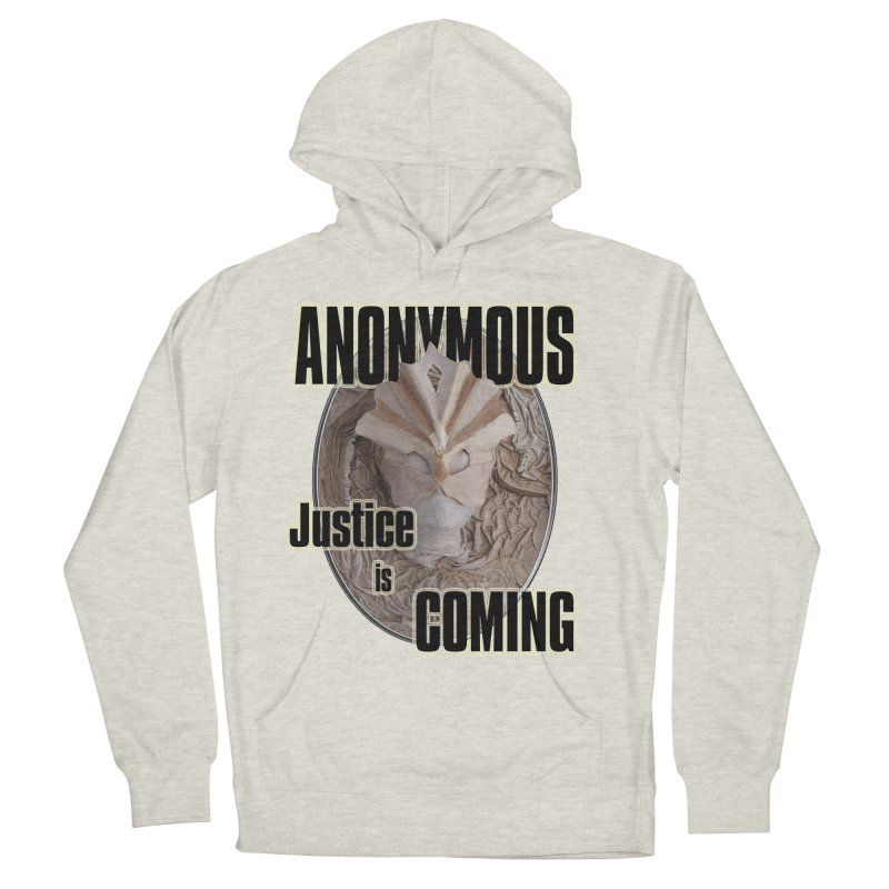 Vote ANONYMOUS Women's Pullover Hoody by NadineMay Artist Shop